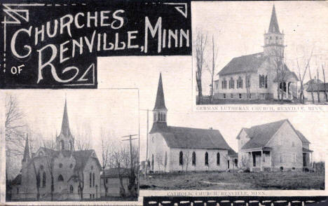 Churches of Renville Minnesota, 1927