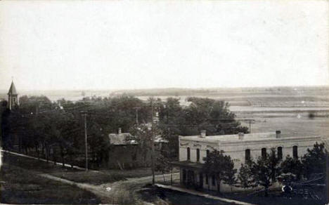 General view, Rice Minnesota, 1910's?