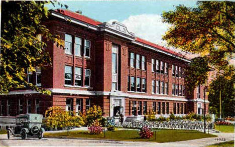 High School, Rochester Minnesota, 1920's