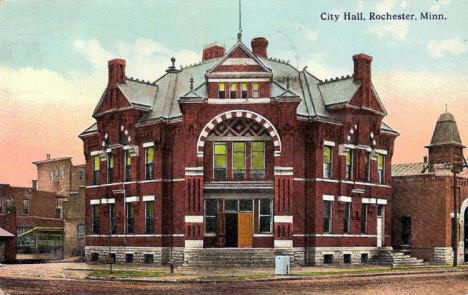 City Hall, Rochester Minnesota, 1913