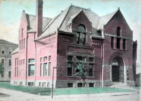 Library Building, Rochester Minnesota, 1908