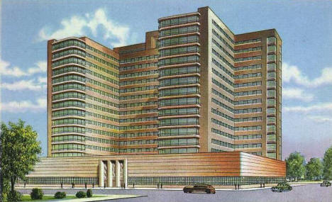Kahler Hospital to be Built at Rochester Minnesota, 1943