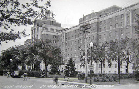 New Addition, St. Mary's Hospital, Rochester Minnesota, 1946