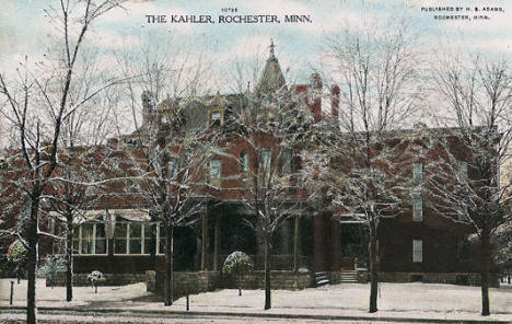 The Kahler, Rochester Minnesota, 1908
