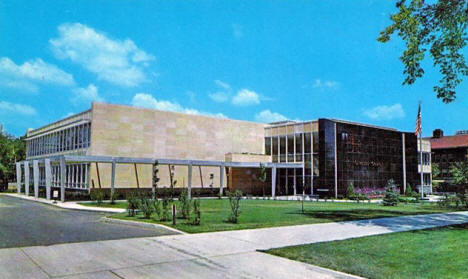 Olmstead County Courthouse, Rochester Minnesota, 1959
