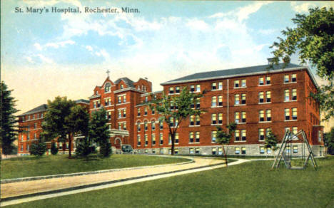 St. Mary's Hospital, Rochester Minnesota, 1915