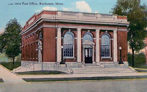 New Post Office, Rochester Minnesota, 1912