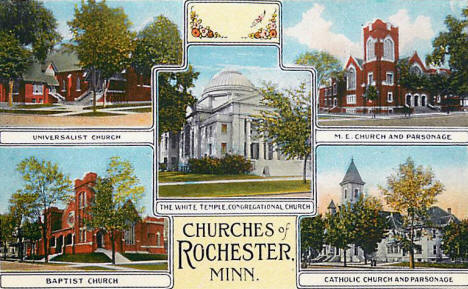 The Churches of Rochester Minnesota, 1915