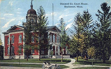 Olmstead County Courthouse, Rochester Minnesota, 1918