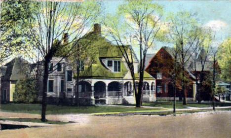West College Street, Rochester Minnesota, 1910