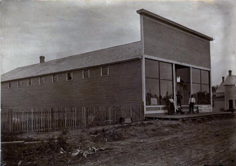 Norquist Bros Store - First store in Roosevelt Minnesota, 1907