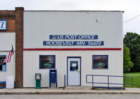 Post Office, Roosevelt Minnesota, 2009