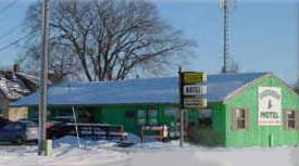 Evergreen Motel, Roseau Minnesota