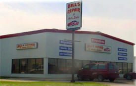 Bill's Repair & Auto Sales, Roseau Minnesota