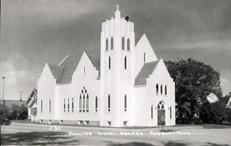 English Lutheran Church, Roseau Minnesota, 1940's
