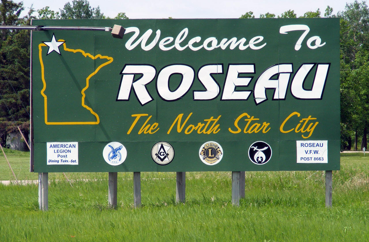 Welcome to Roseau Minnesota!