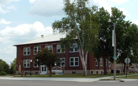 Old Roseau County Courthouse, Roseau Minnesota, 2006