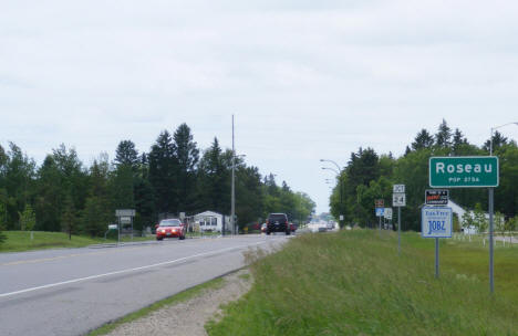 Entering Roseau from the east, 2009