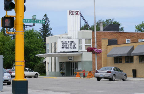 Roso Theater, Roseau Minnesota, 2009