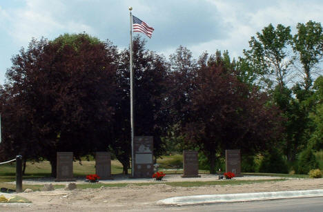 Veterans Memorial, Roseau Minnesota, 2006