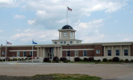 New Roseau County Courthouse, Roseau Minnesota, 2006