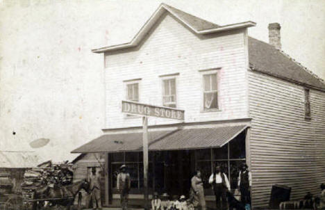 City Drug Store, Roseau Minnesota, 1900's