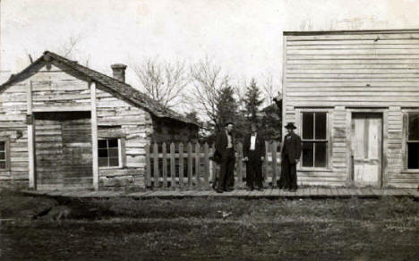 First Jail and Post Office, Roseau Minnesota, 1890's