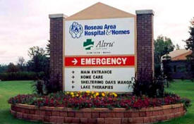 Roseau Area Hospital, Roseau Minnesota