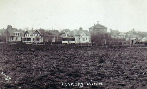 General view, Rothsay Minnesota, 1925