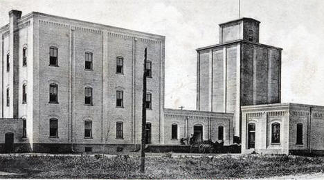 Rush City Milling Company, Rush City Minnesota, 1913