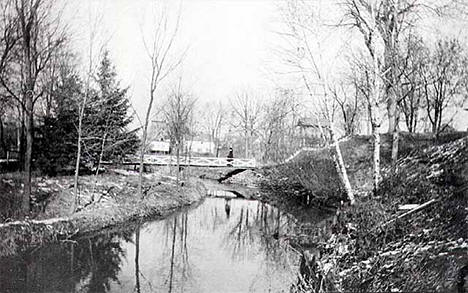 Rush Creek, Rush City Minnesota, 1920