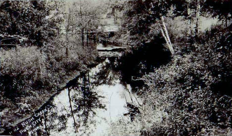 Rush Creek, Rush City Minnesota, 1909