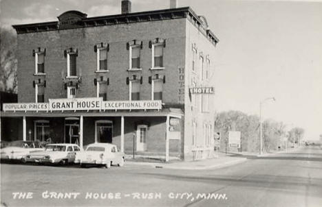 The Grant House, Rush City Minnesota, early 1960's