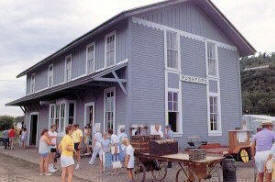 Depot Museum and Tourist Info, Rushford Minnesota