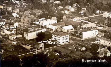 View of Rushford Minnesota, 1909