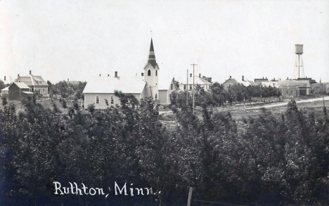 General view, Ruthton Minnesota, 1910's