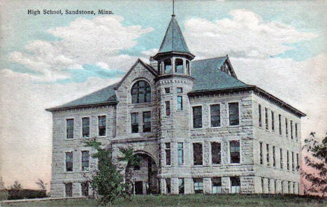 High School, Sandstone Minnesota, 1909