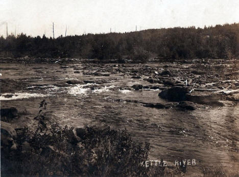 Kettle River at Sandstone Minnesota, 1910's?