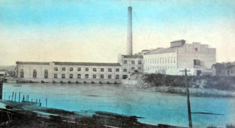 Watab Paper Mill, Sartell Minnesota, 1913