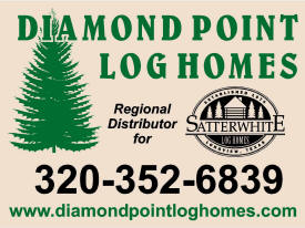 Diamond Point Log Homes, Sauk Centre Minnesota