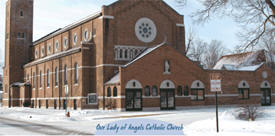 Our Lady of Angels Church, Sauk Centre Minnesota