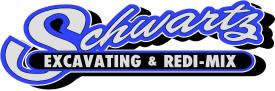schwartz excavating & redi-mix logo