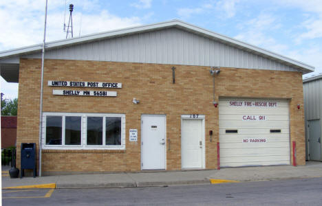 US Post Office and Shelly Fire & Rescue, Shelly Minnesota, 2008