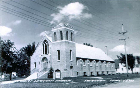 St. John's Lutheran Church, Sherburn Minnesota, 1940's