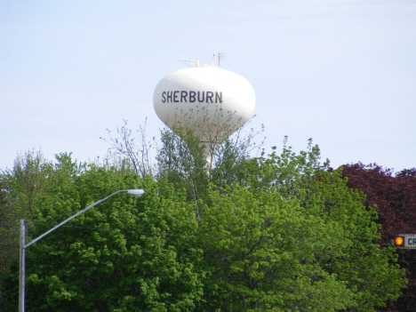 Water tower, Sherburn Minnesota, 2014