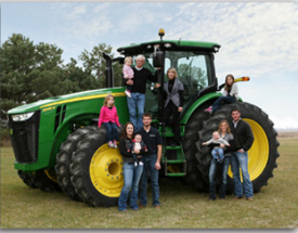 Truesdell Family Farm, Sherburn Minnesota