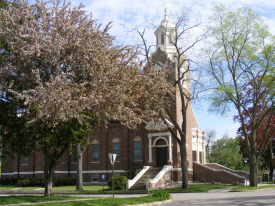 St. Luke's Catholic Church, Sherburn Minnesota