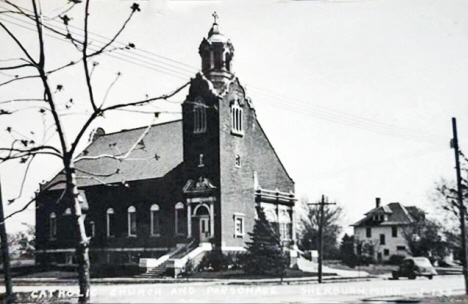 Catholic Church, Sherburn Minnesota, 1940's