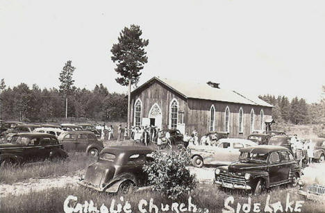Catholic Church, Side Lake Minnesota, 1939