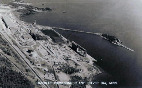 Taconite Processing Plant, Silver Bay Minnesota, late 1950's